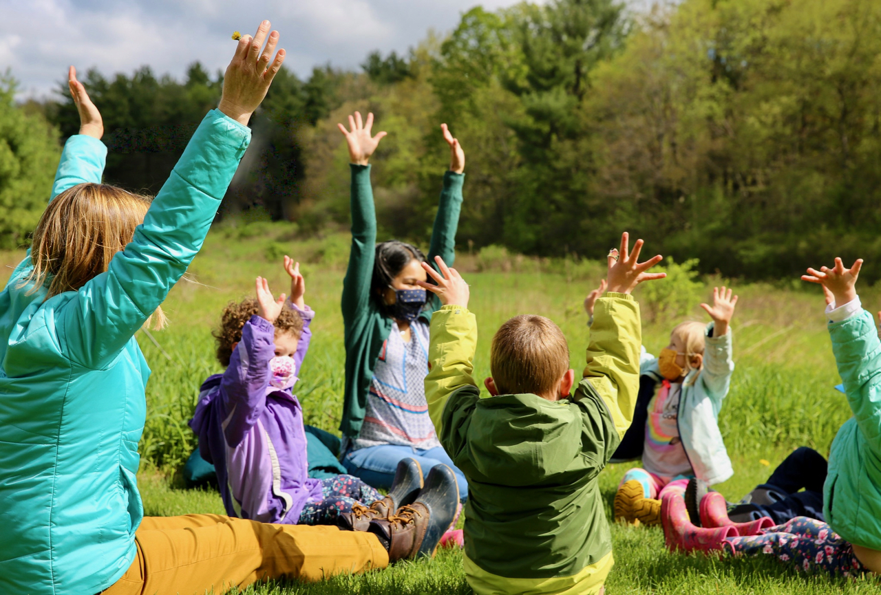 parent and toddler nature-based program activities